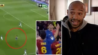 Arsenal Legend Thierry Henry Remembers 'Forgotten' Lionel Messi Goal That 'Defied Logic'