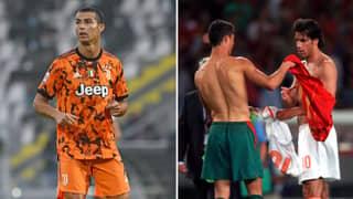 Cristiano Ronaldo Refused Shirt Swap 'Because He Was So P***ed Off He Hadn't Scored'