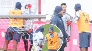Bayern Munich Players End Up Fighting In Training After Leon Goretzka Challenge