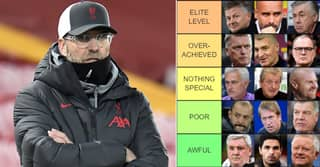 Every Premier League Boss Ranked On Halfway From 'Manager Of The Year' To 'Sacked Soon'