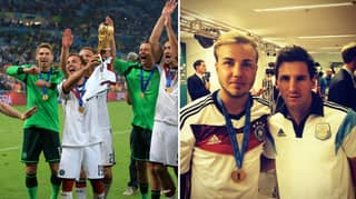 Mario Gotze Ran To Ask Lionel Messi For A Picture After 2014 World Cup Final
