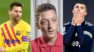 Mesut Ozil Answers Age Old Lionel Messi Vs Cristiano Ronaldo Question