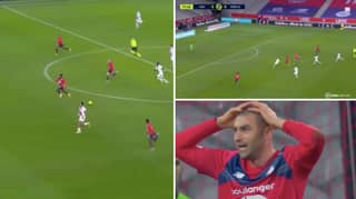Presnel Kimpembe Produced The Tackle Of The Season To Stop Four Vs One Lille Counter Attack