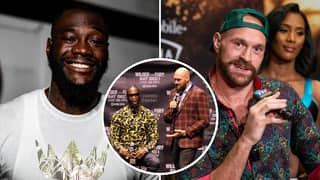 Tyson Fury Shows Off His Bulked-Up Physique As He Vows To KO Deontay Wilder