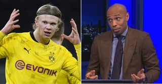 Thierry Henry Compares 'Ridiculous' Erling Haaland To Manchester United Ace