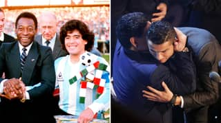 Cristiano Ronaldo Pays Tribute To Diego Maradona After His Sad Passing Aged 60