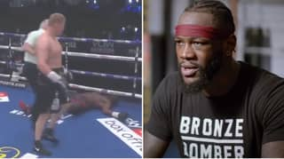 Deontay Wilder Reacts To Dillian Whyte's Shocking Defeat With Cryptic Message