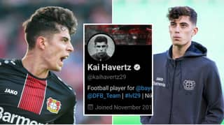 Kai Havertz Likes 'Announce Havertz' Tweet On Social Media As Fans Lose Their Minds