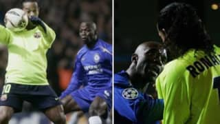 """""""I'll Send You To Hospital"""" - The Story Of Claude Makelele Threatening Ronaldinho Is Priceless"""