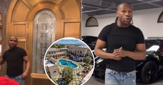 Floyd Mayweather Gives Bizarre Guided Tour of His $10 Million Las Vegas Mansion