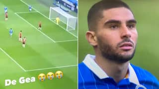 Footage Shows How David De Gea Reacted To Being Mugged Off By Neal Maupay