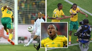 What Happened To Siphiwe Tshabalala: The Man Who Shocked The World At The 2010 World Cup
