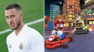 Eden Hazard Plays Mario Kart 'Five Minutes Before A Game' And 'Lacks Ambition'