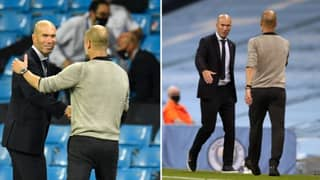 Pep Guardiola Reveals What He Said To Zinedine Zidane In Post Match Chat