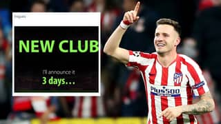 Atletico Madrid's Saul Niguez Says He Will Announce His 'New Club' In Three Days