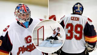 Chelsea Legend Petr Cech Saves Crucial Penalty On His Ice Hockey Debut As Guildford Phoenix Win