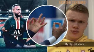 Neymar Planned Mocking Erling Haaland According To A Teammate