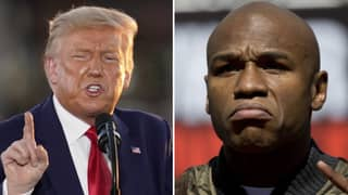 US President Donald Trump's 'Conspiracy Theory' On Floyd Mayweather's 'Fix' Victory