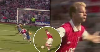 On This Day: Dennis Bergkamp Scored The Goal Made Him An Arsenal Hero