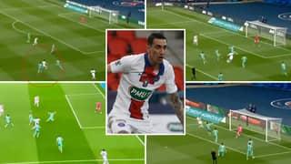 PSG Star Angel Di Maria Pulls Off Stunning Rabona Assist For Mauro Icardi's Goal Vs Angers