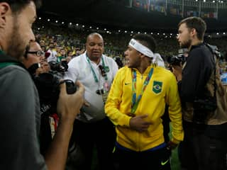 WATCH: Neymar Reacts Angrily To Brazil Fan After Winning Olympic Gold