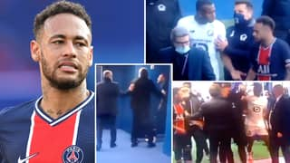 Lille Defender Tiago Djalo Claims Neymar 'Threw Tape In My Face' During Heated Tunnel Bust-Up