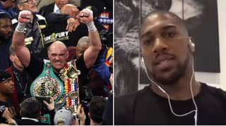 Anthony Joshua Attempts To Expose Tyson Fury's Credentials As A Top-Level Fighter