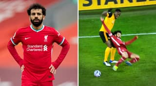 Fans Are Furious With Mohamed Salah 'Diving' Yet Again During Wolves 0-1 Liverpool