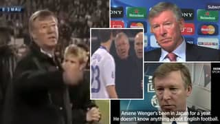 Incredible Thread Of Sir Alex Ferguson Absolutely Losing It With Everyone Is Peak Entertainment