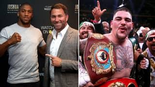 Anthony Joshua Will Face Andy Ruiz Jr In Saudi Arabia In $100 Million Mega-Event