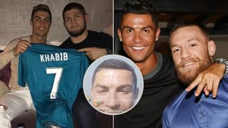 Cristiano Ronaldo Gives His Prediction For Khabib Nurmagomedov's Fight With Justin Gaethje At UFC 254