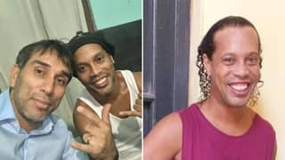 Ronaldinho Is 'Sad' In Prison According To Visiting Friend