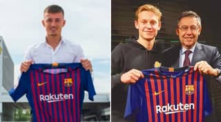 Son Of Frenkie De Jong's Agent Leaves Barcelona Without Playing A Single Minute