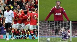 Recalling Dimitar Berbatov's Stunning Hat-Trick For Manchester United Against Liverpool - And That Overhead Kick