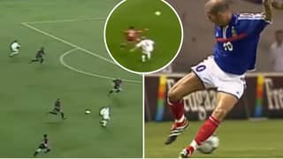 Video Shows Zinedine Zidane Had The Best First Touch Of All-Time