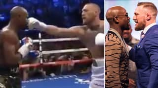 Conor McGregor's Hilariously Bad Jab Attempt Against Floyd Mayweather Has Gone Viral Again