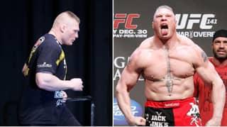 Brock Lesnar Offered Sensational Return Fight Against One Of MMA's Biggest Legends