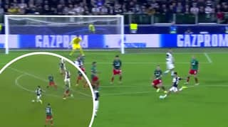 Paulo Dybala Scores Stunning Goal For Juventus In The Champions League