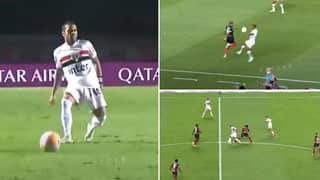 Compilation Of Dani Alves As A Central Midfielder Aged 37 Shows He's A Complete Player