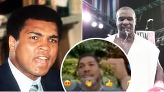 Anthony Joshua Picks Who Would've Won Ali Vs. Tyson In Their Primes