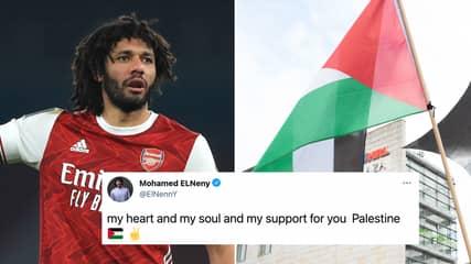 Arsenal 'In Urgent Talks' With Sponsor After Mohamed Elneny Posts Support For Palestine On Social Media