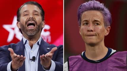 Donald Trump Jr Ruthlessly Mocks Megan Rapinoe Over 'Woke Politics' After US Women's Olympics Defeat