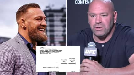 Dana White Reacts To Conor McGregor Leaking Official UFC Receipt