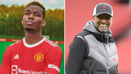 Paul Pogba Has Been 'Offered To Liverpool' In Potentially Shocking Transfer