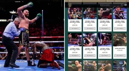 You Can Now Buy Signed £100 Photos Of Deontay Wilder Getting Knocked Out On Tyson Fury's Official Website