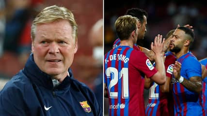 Barcelona's Five-Man Shortlist To Replace Ronald Koeman It Sums Up What A Mess They're In