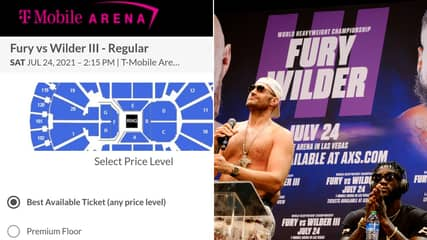 Ticket Prices For Tyson Fury vs. Deontay Wilder 3 Revealed And They're Extremely Expensive