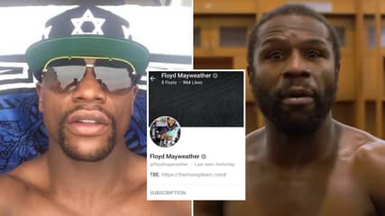 Floyd Mayweather Has Started His Own OnlyFans Page With 'Exclusive Content'