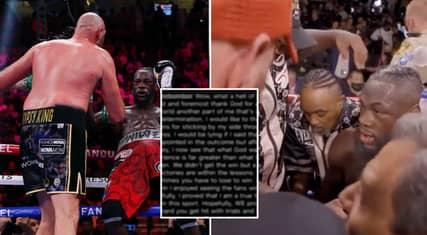 Deontay Wilder Breaks Silence For First Time Since Tyson Fury Defeat, He's Finally Redeemed Himself