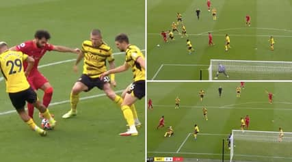 Mo Salah Destroys The Whole Watford Defence And Scores Goal Of The Season Contender